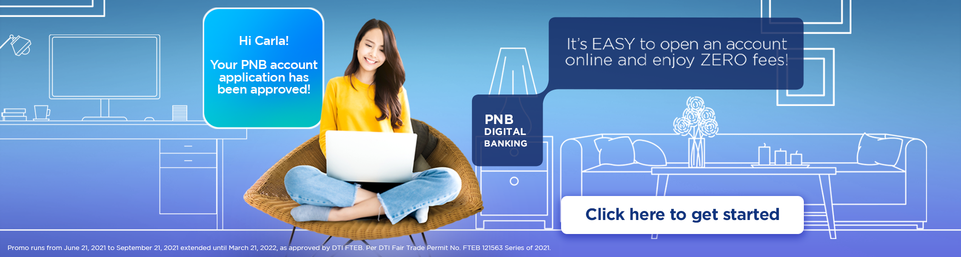 PNB Online Account Application